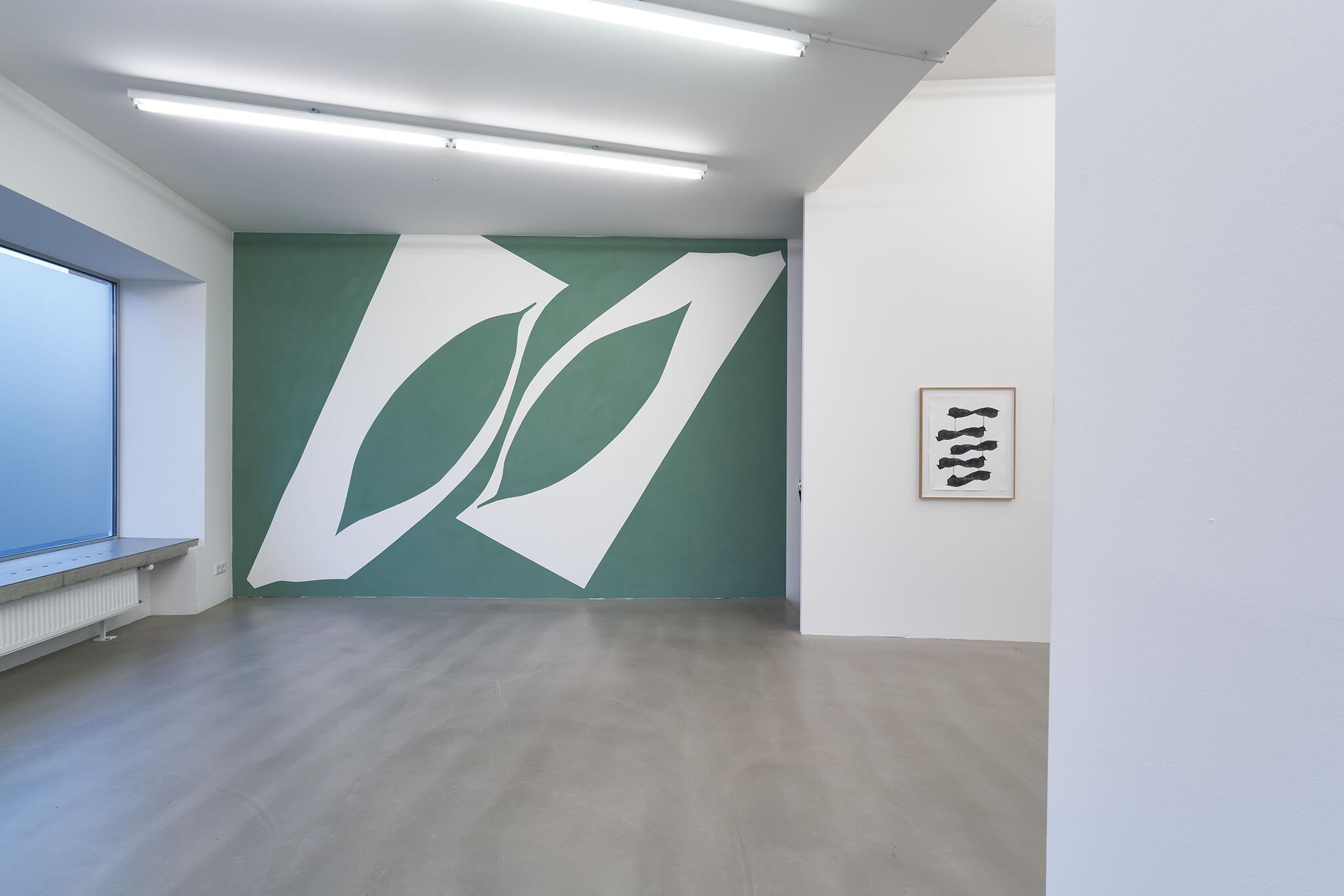 108_Frauke-Dannert_Collage_Ausstellung_Wandmalerei_botanicals_Rupert-Pfab-Düsseldorf_-2017