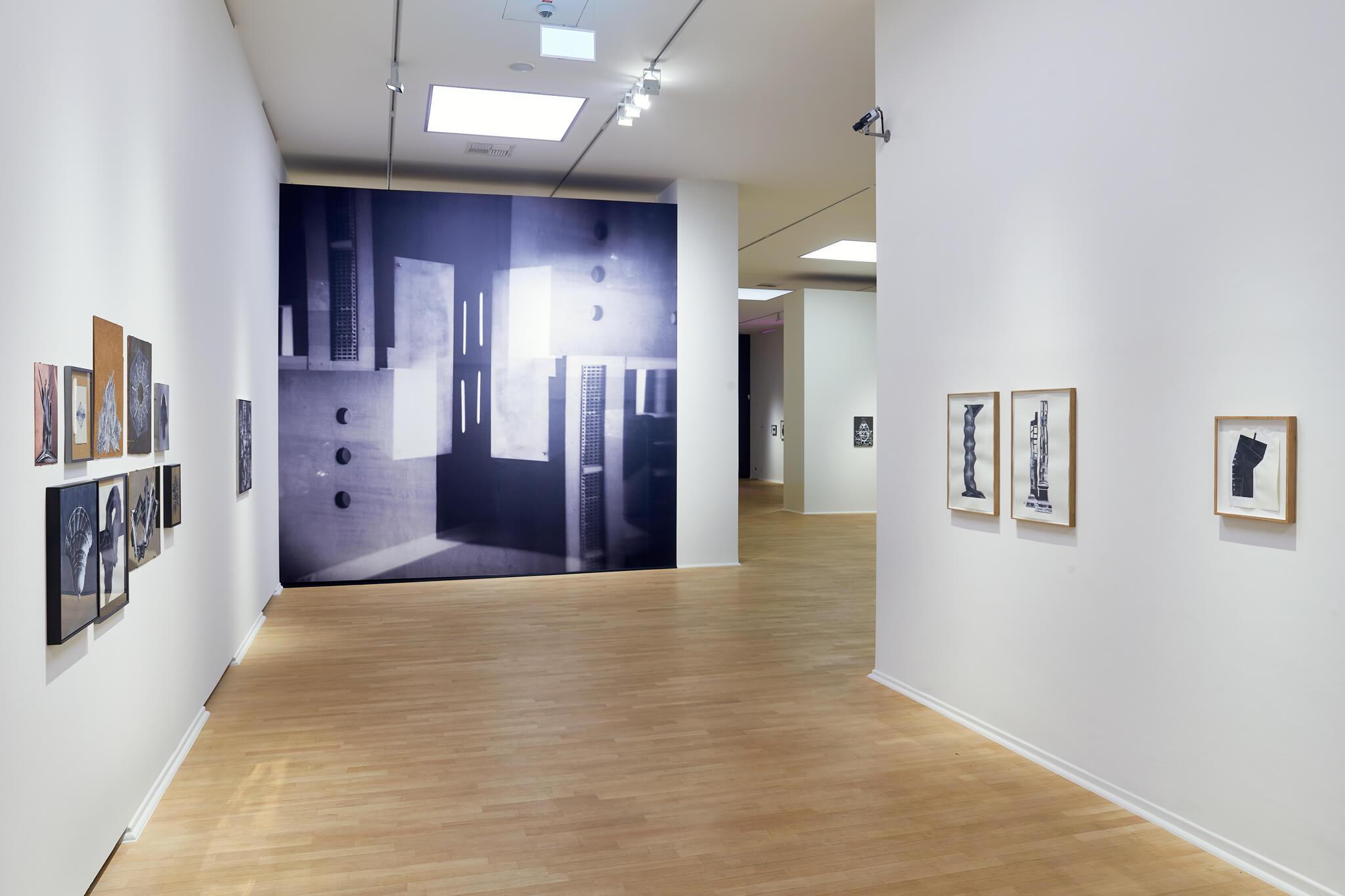 93_Frauke-Dannert_Collage_Installation_Mehrfachbelichtung_Museum-Kunstpalast_2016
