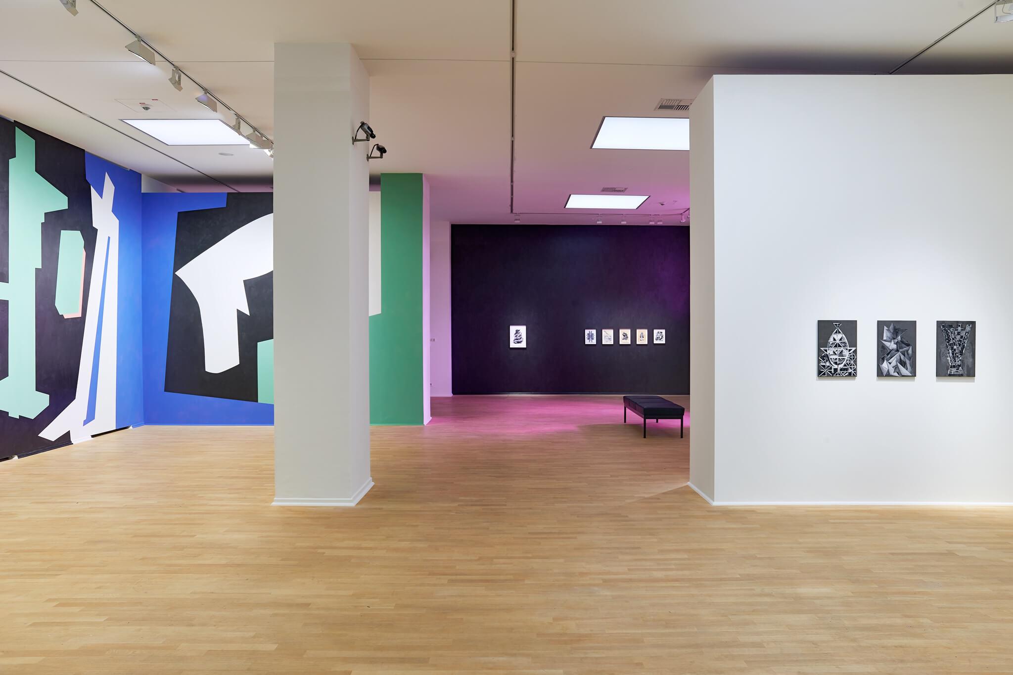 94_Frauke-Dannert_Collage_Installation_Mehrfachbelichtung_Ohne-Titel_Museum-Kunstpalast_2016