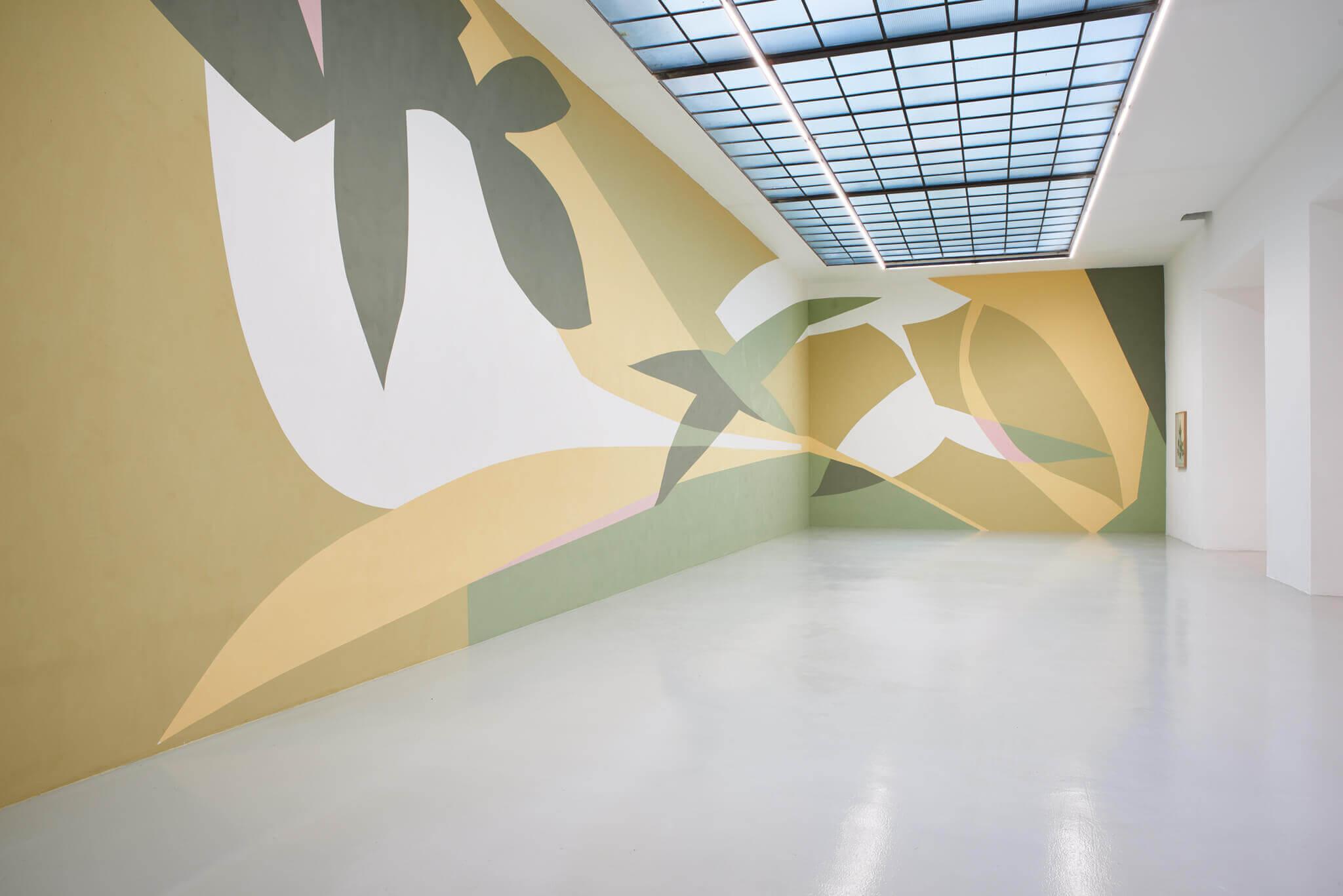 01_Frauke Dannert_Collage_Ausstellung_Folie_Galerie Lisa Kandlhofer_Wien_2018