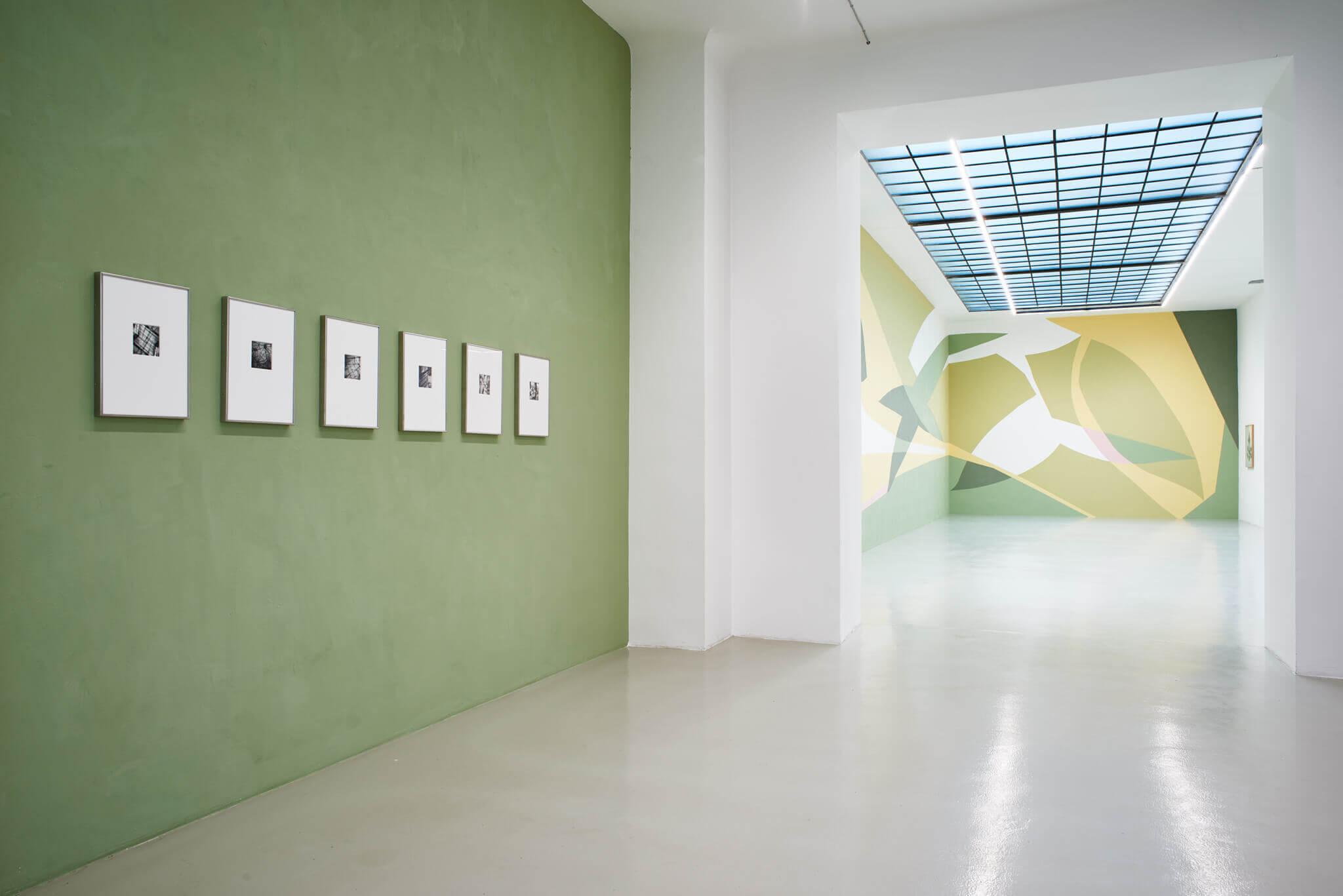 02_Frauke Dannert_Collage_Ausstellung_Folie_Galerie Lisa Kandlhofer_Wien_2018