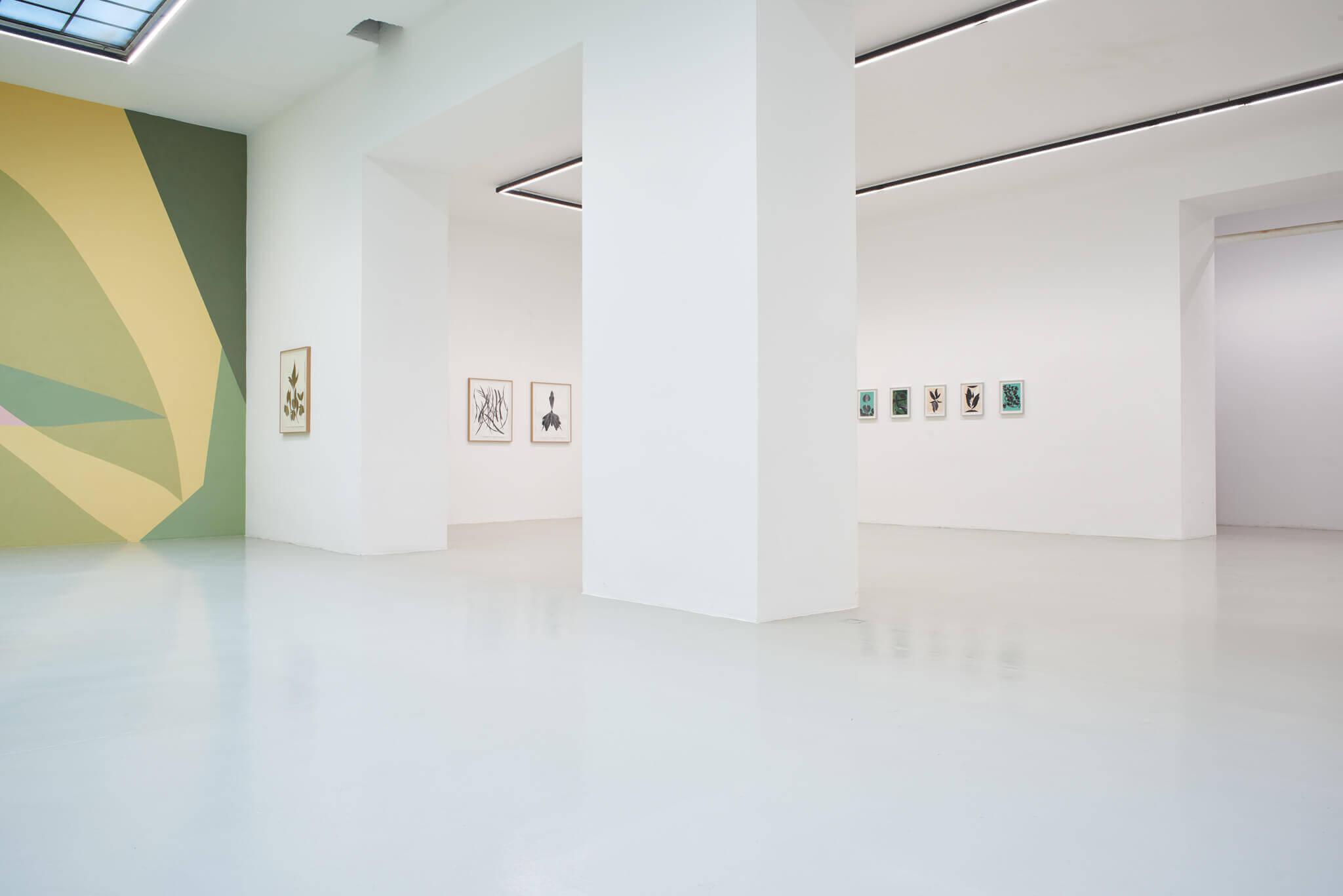 03_Frauke Dannert_Collage_Ausstellung_Folie_Galerie Lisa Kandlhofer_Wien_2018