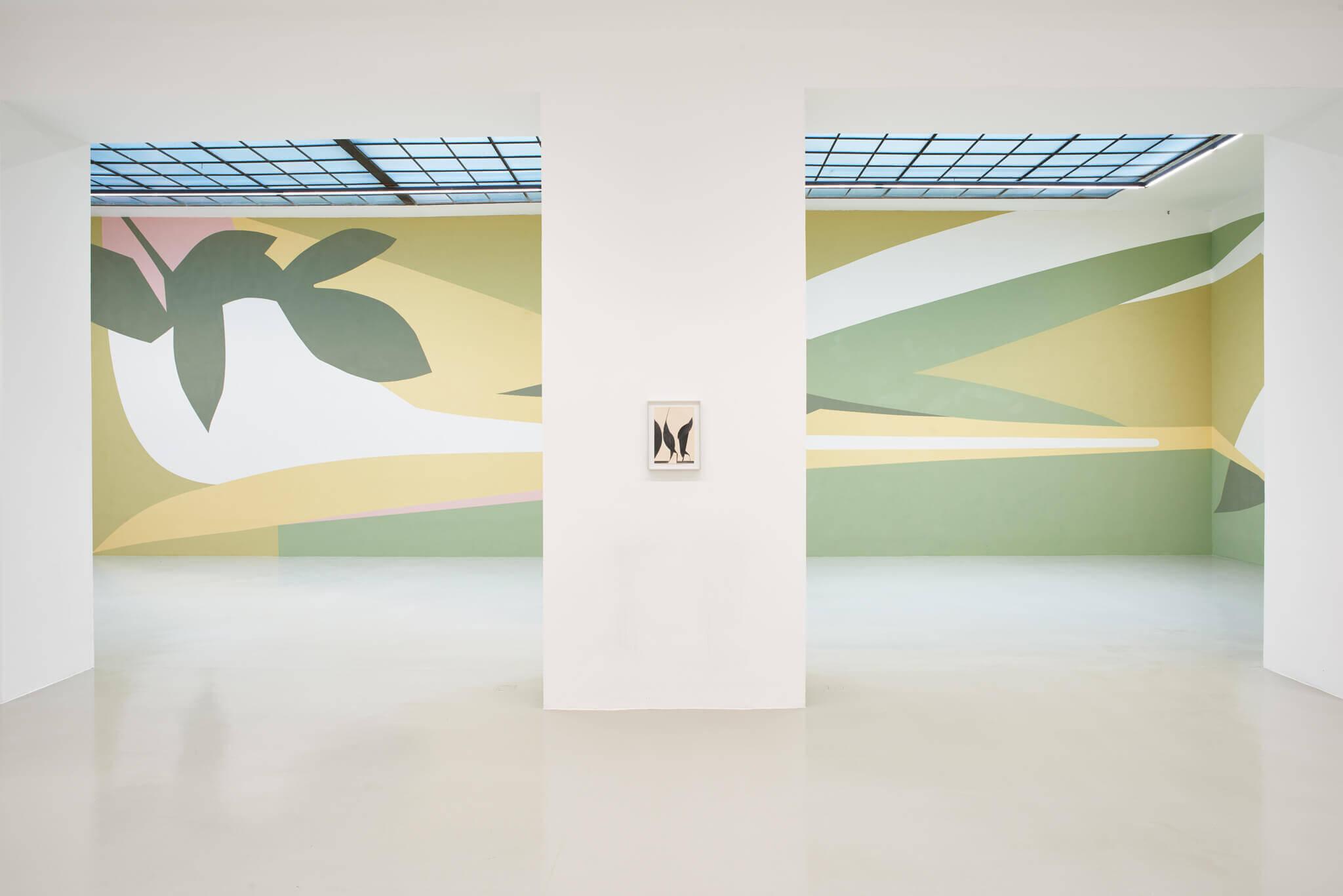 06_Frauke Dannert_Collage_Ausstellung_Folie_Galerie Lisa Kandlhofer_Wien_2018