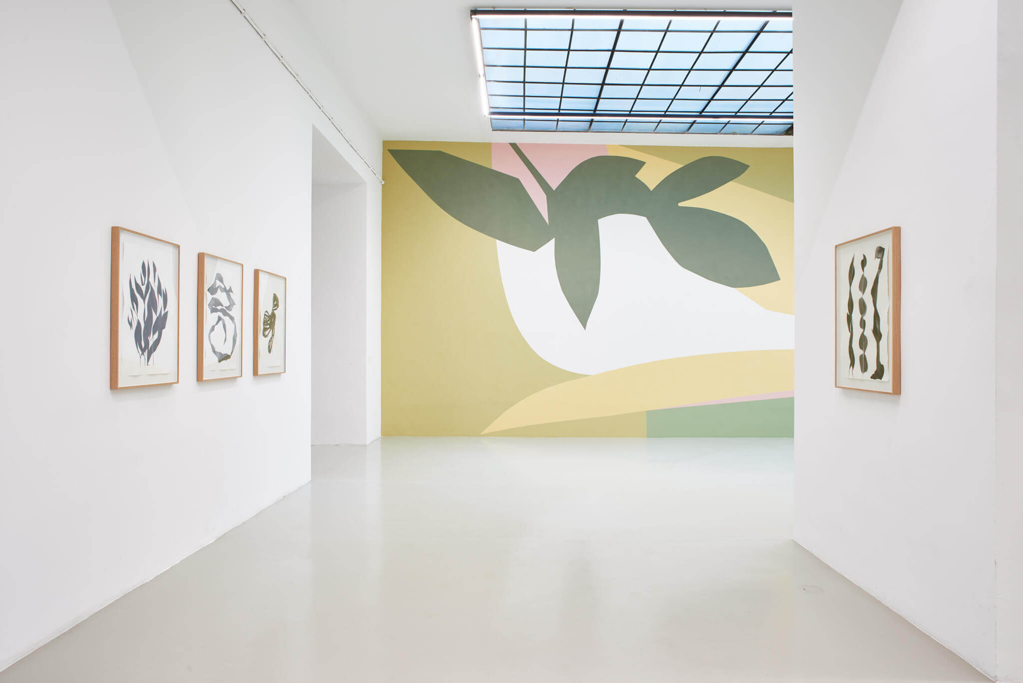 07_Frauke Dannert_Collage_Ausstellung_Folie_Galerie Lisa Kandlhofer_Wien_2018