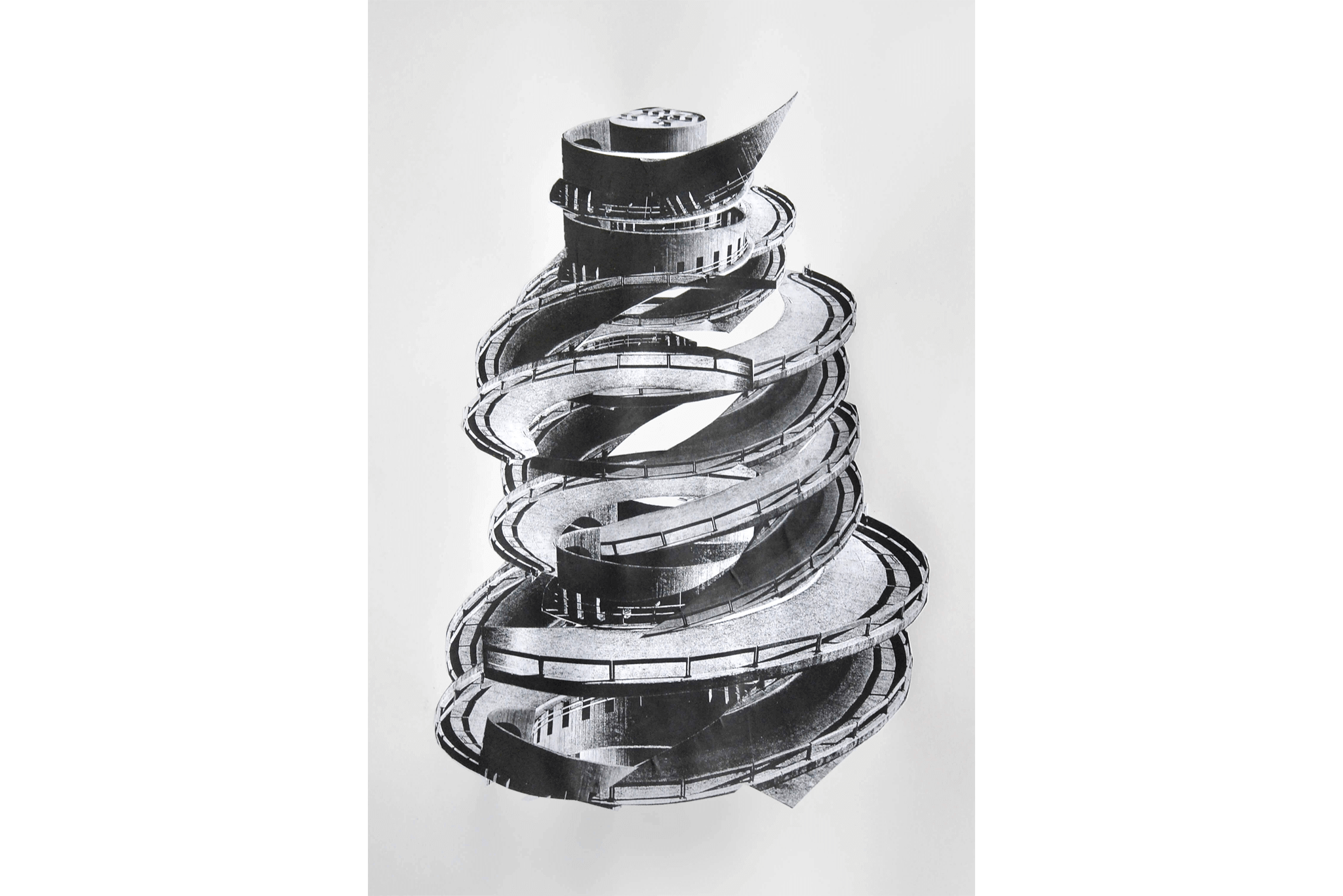 2011_16_Frauke-Dannert_Collage_Papiercollage_Serpentine-II-Kopie