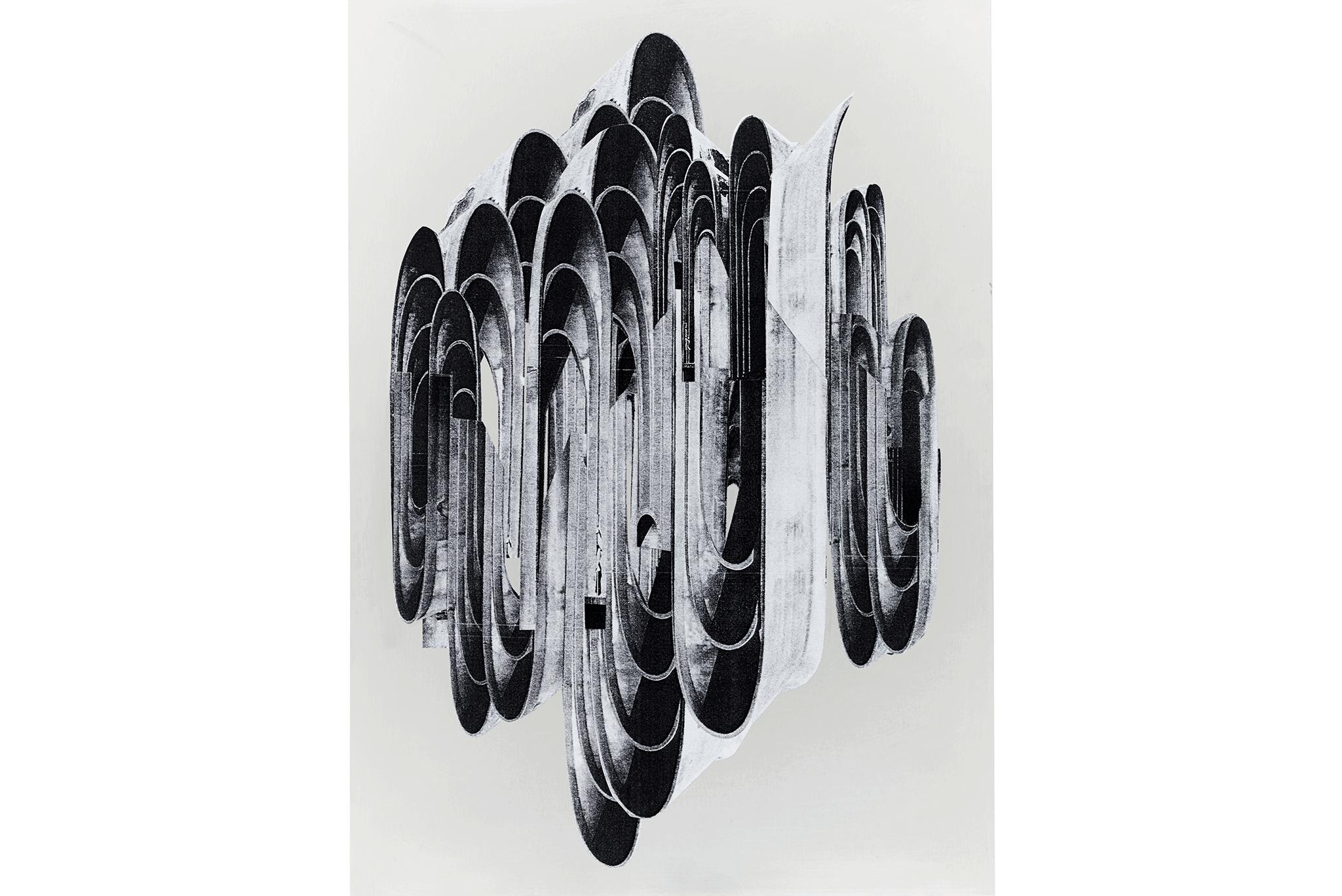 88_Frauke-Dannert_Collage_Papiercollage-auf-Aluminium_Ohne-Titel-2014-Kopie